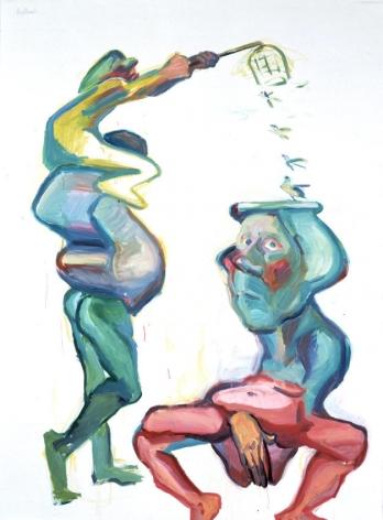 Profitanskis 2001 Oil on canvas