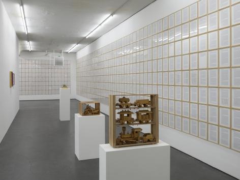 Hanne Darboven – Packed Time, Installation view, Falckenberg Collection/Deichtorhallen Hamburg, 2017