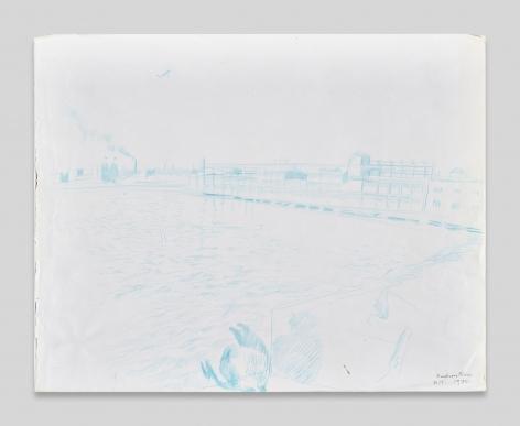 Maria Lassnig, Hudson River
