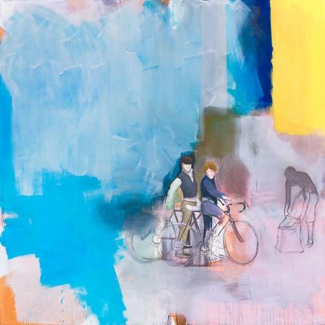 Giro 2013 Acrylic and oil on canvas