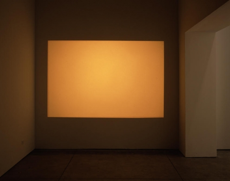 Orange (projection on left wall)