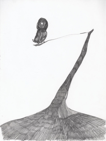 Untitled 2003 Graphite on paper