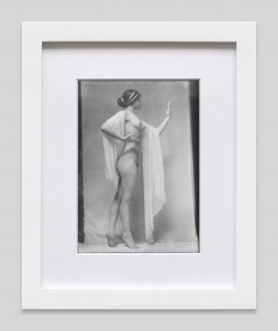 Photograph of Audrey Munson, 1915, Contemporary silver gelatin print from original negative