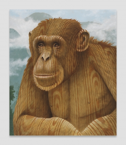 Sean Landers, Wood Chimp