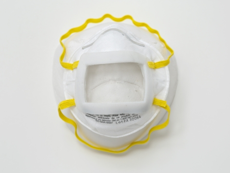 Keith Edmier, N95 Respirator Mask with Clear Window