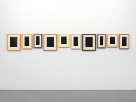 Allan McCollum Collection of Ten Plaster Surrogates