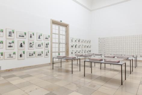 Hanne Darboven. Aufklärung (Enlightenment), Installation view, Haus der Kunst, Munich, 2015