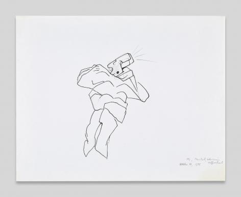 Maria Lassnig, Television Selfportrait