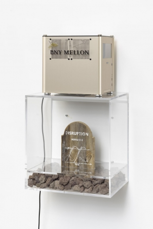 8_BNY Mellon 8_Plexiplinth with Stones and Tombstone