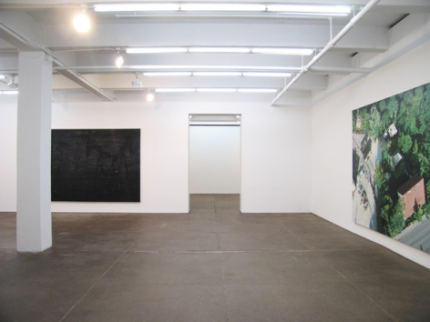 Crystal Mess Installation view
