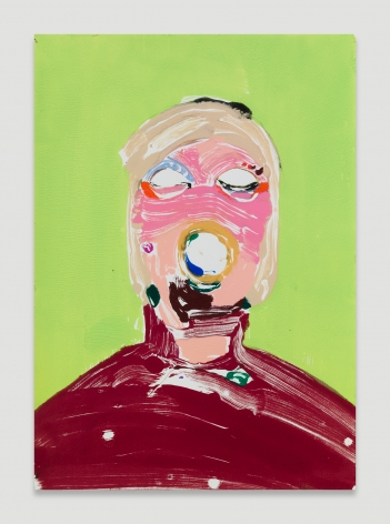 Nicola Tyson, Portrait Head #65