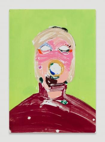 Nicola Tyson, Portrait Head #65