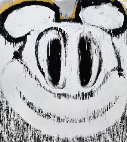 Joyce Pensato, Snowball Mickey