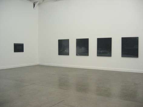 Troy Brauntuch, Le Magasin - Centre National D'Art Contemporain, 2007  Installation view