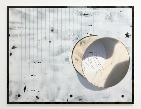 Seth Price, 3DP: Lined Paper