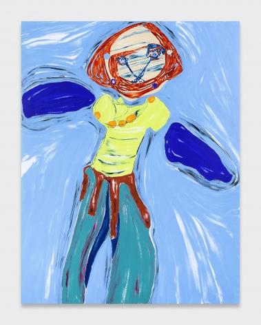 Nicola Tyson, Self-Portrait: Doll