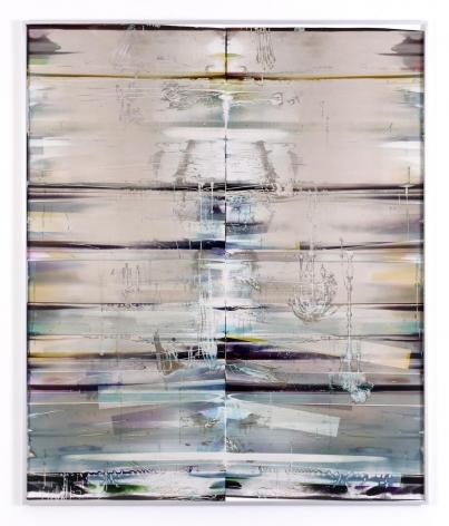 Cross-Contaminated Inverted RA4 Contact Print (MCY/Six Magnet: Los Angeles, California, April 8, 2016; Fujicolor Crystal Archive Super Type C Em. No. 112-006; Kodak Ektacolor RA Bleach-Fix and Replenisher; Kreonite KM IV 5225 RA4 Color Processor, Ser. No. 00092174; 07016)