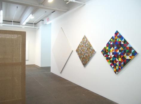 Heimo Zobernig, Petzel Gallery, 2008  Installation view