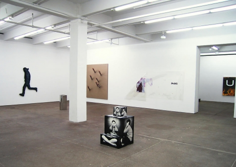 Grey Flags Installation view