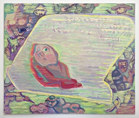 Maria Lassnig, Fernsehkind (TV Child)