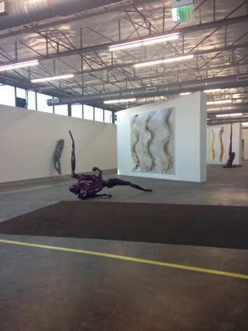 Georg Herold, Dallas Contemporry, 2013, Installation view