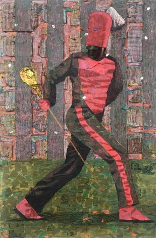 Derek Fordjour, Red Stripe Pivot