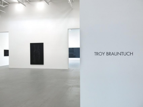 Troy Brauntuch Installation view 1