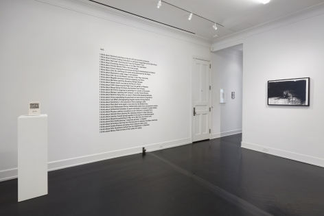 Andachtsbild, Installation view