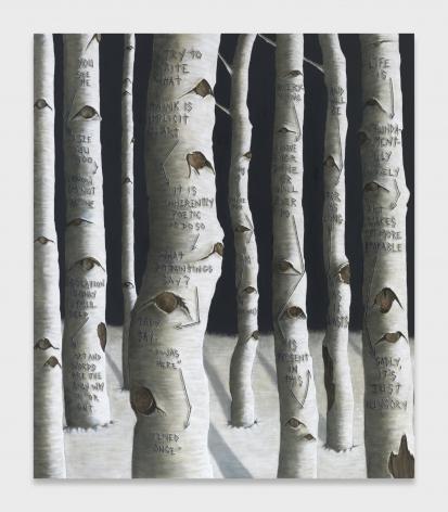 Sean Landers, What Do Paintings Say?