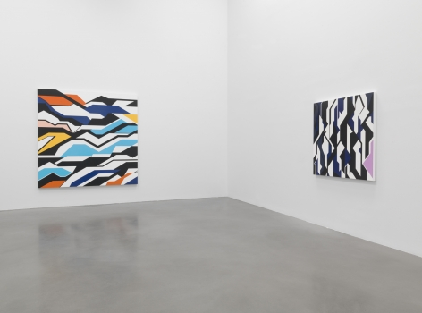Finite and Infinite Games,Petzel Gallery 2017, Installation view