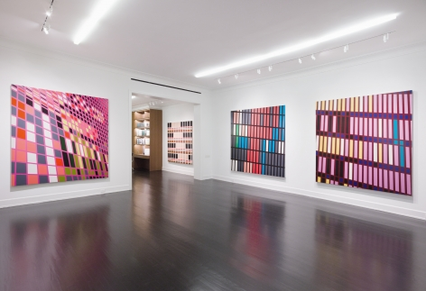 Sarah Morris, Midtown Paintings: 1998–2001