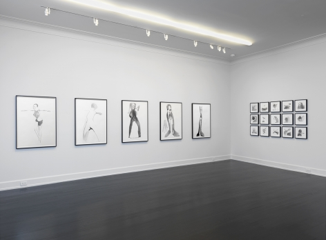Works on Paper, Petzel Gallery, 2016, Installation view