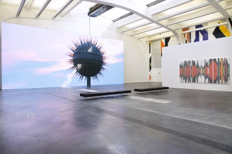 Odysseus Factor, Ullens Contemporary Center for the Arts, 2018 , Installation view