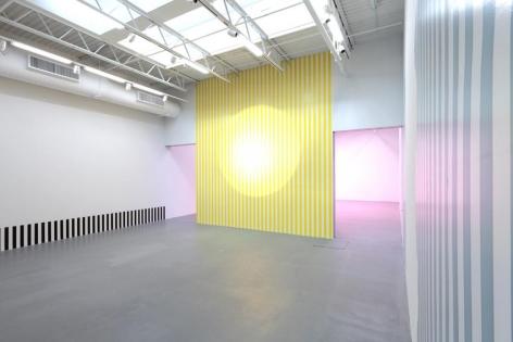 Daniel Buren Installation view 2