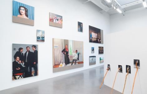 2017, Petzel Gallery, 2018, Installation view