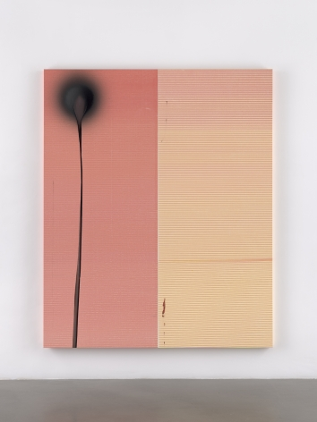 Wade Guyton / Stephen Prina, Wade Guyton, Untitled, 2011, Epson UltraChrome HDX inkjet on linen