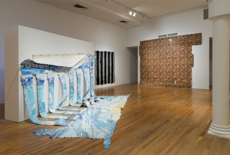 Rodney McMillian: Views on Main Street, The Studio Museum, 2016, Installation view