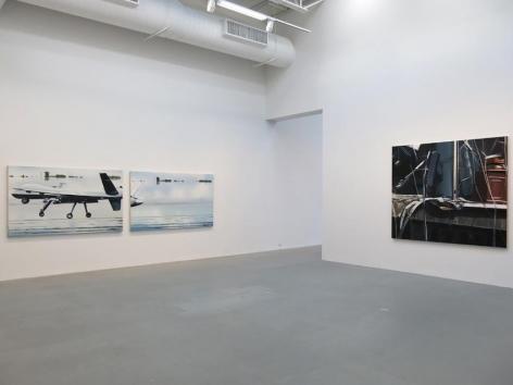 Dirk Skreber Installation view 9