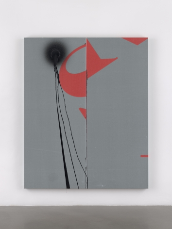 Wade Guyton / Stephen Prina, Wade Guyton, Untitled, 2019, Epson UltraChrome HDX inkjet on linen