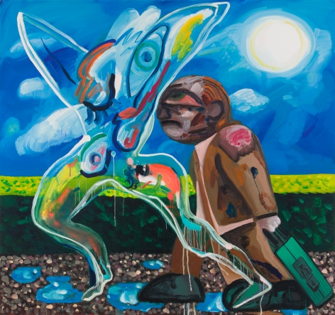 Dana Schutz, Trouble and Appearance