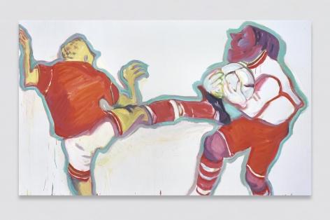 Maria Lassnig, Konkurrenz IV