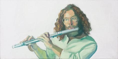 Porträt des Flötisten