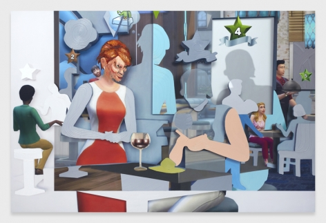 Shifted Sims #4 (Dine Out Expansion Pack)
