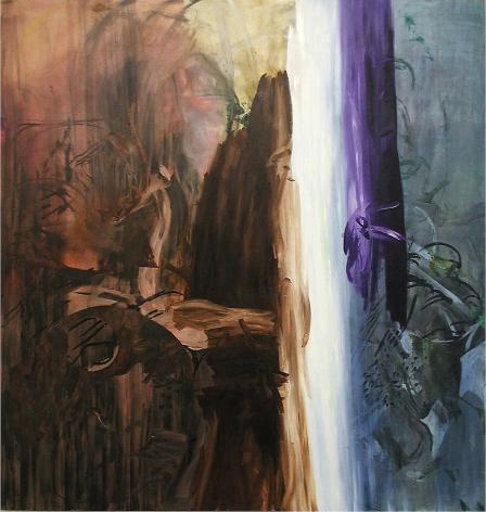 Untitled (Brown, White, Purple)