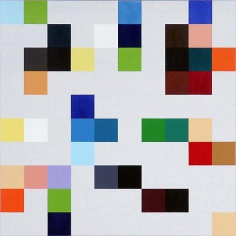 Untitled 2007 Acrylic on canvas