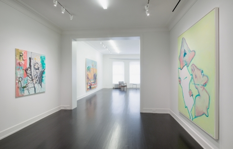 PAINTING, Installation view