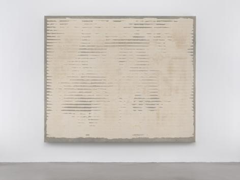 Allan McCollum, Untitled (Bleach Painting)