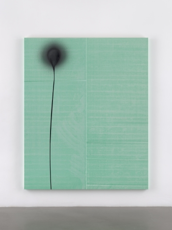 Wade Guyton / Stephen Prina, Wade Guyton, Untitled, 2012, Epson UltraChrome HDX inkjet on linen