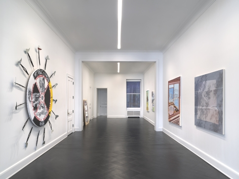 PAGE (NYC) at Petzel, Installation view