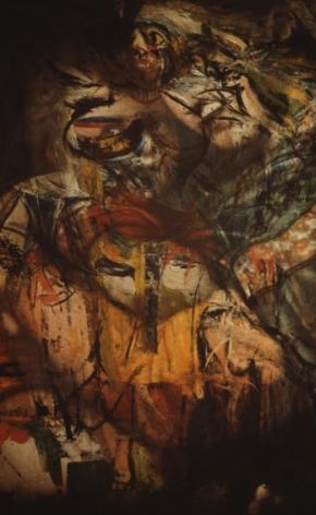 Untitled (de Kooning/Raphael) #2